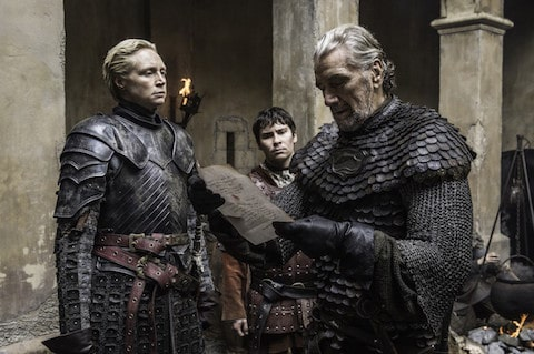 Game of Thrones Brienne and Blackfish