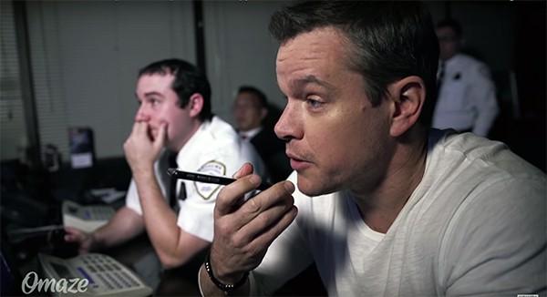 Matt Damon prank