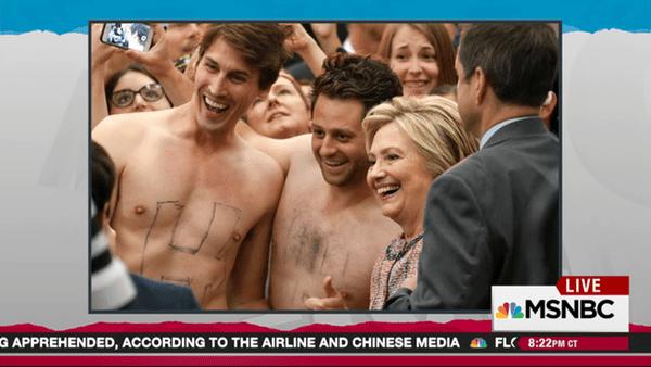 shirtless pranksters