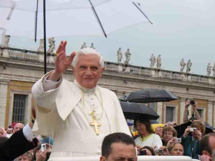 pope benedict gay lobby