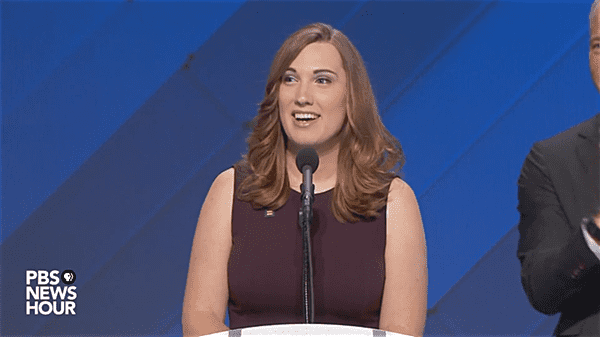 the first transgender woman to speak at a major party convention in america