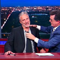 Jon Stewart Takes Over Stephen Colbert's Late Show Desk, Goes for the GOP Jugular: WATCH