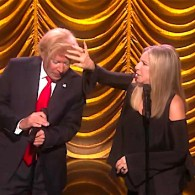 Barbra Streisand Duets with Donald Trump and His Growling Hair: WATCH