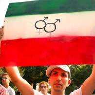 19 July, 2006. Global Day of Protest . Iran: Stop Killing Gays (Photo by Elvert Barnes / Flickr / Wikimedia Commons)