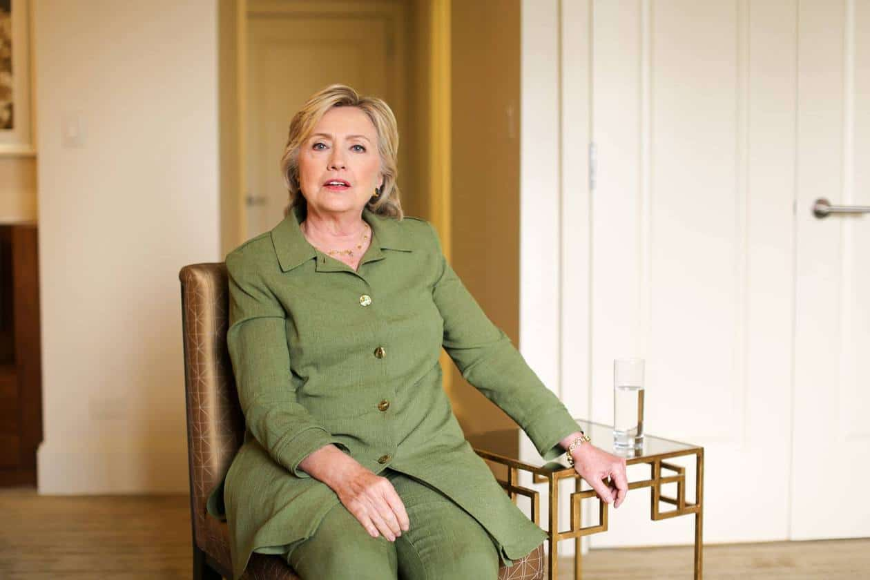 Clinton: 'I can be perceived as aloof or cold'