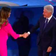 FINAL DEBATE: Obama's Half-Brother is Trump's Guest; Bill and Melania Won't Shake Hands