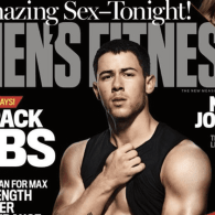 Nick Jonas Flexes His 'Huge Arms' and 6-Pack Abs: LOOK