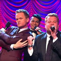 Neil Patrick Harris and James Corden Throw Down in a Hilariously Epic Broadway Riff-Off: WATCH