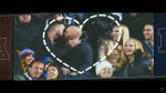 Fans of Love kiss cam