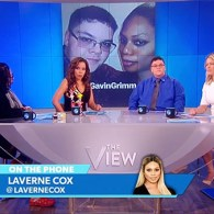 Gavin Grimm Laverne Cox The View