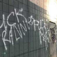 Los Angeles LGBT Center Vandalized with Anti-LGBT Slurs
