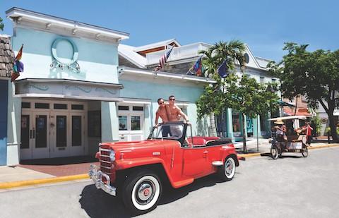Key West gay bar Aqua