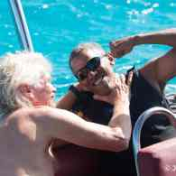 President Obama and Richard Branson in Kitesurfing Battle: WATCH