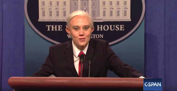 Kate McKinnon Jeff Sessions