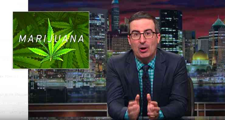 Marijuana john oliver