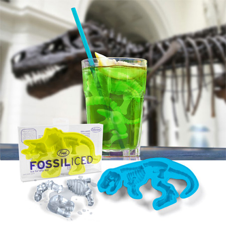 FOSSILICED Ice Cube Tray