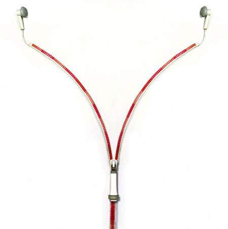 Zipper Earphones by Ji Woong 2