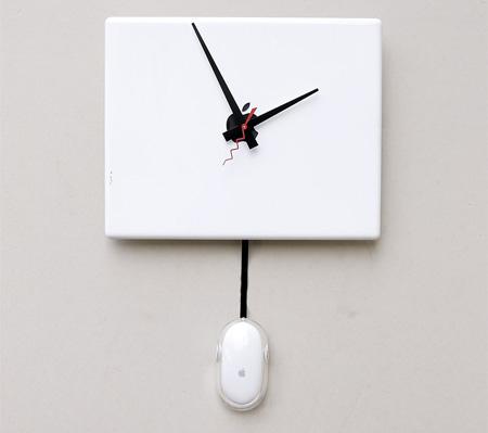 Apple iBook Wall Clock