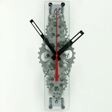 Oblong Gear Wall Clock