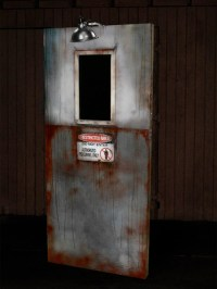 Scary Door for Halloween