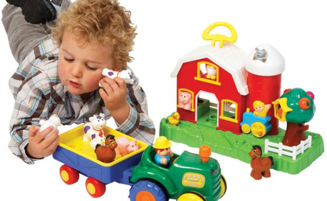 Old Macdonald Farmhouse And Tractor Set Reviews Toylike