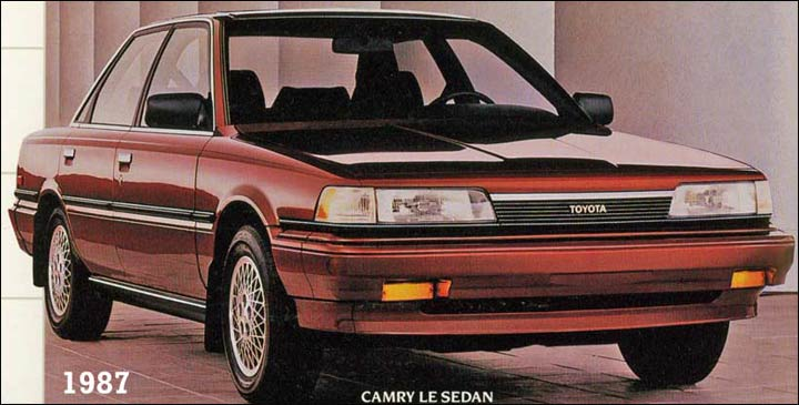 Toyota Camry cars - history and common repairs