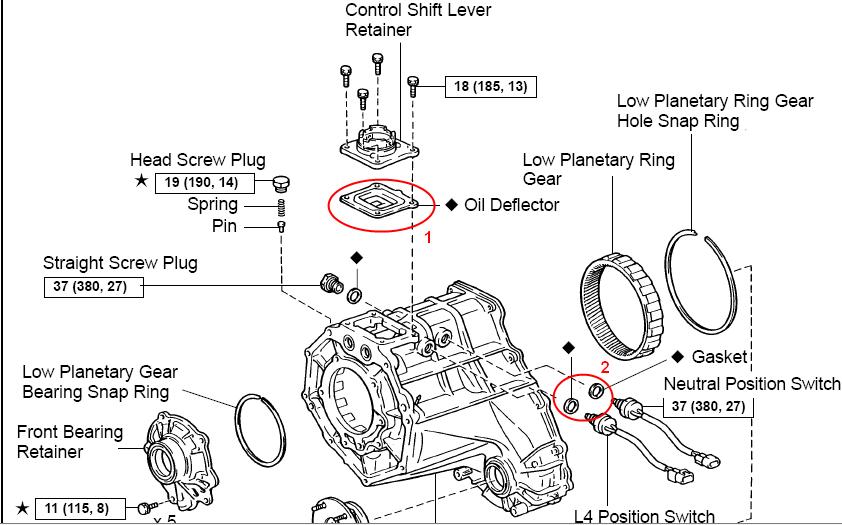 rav4 transfer case diagram