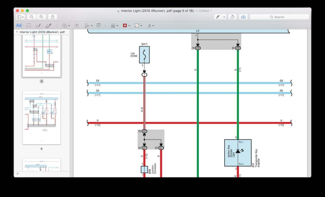 1999 toyota 4runner wiring schematics