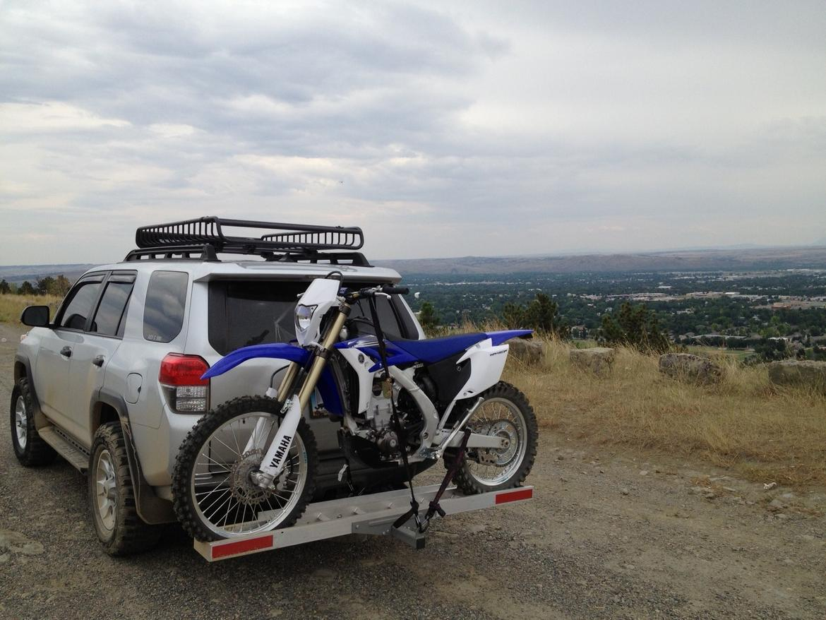 Anyone Have Experience With A Motorcycle Hitch Mount