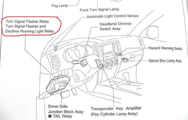 97 Jeep Fog Light Relay Wiring Electrical Circuit Electrical