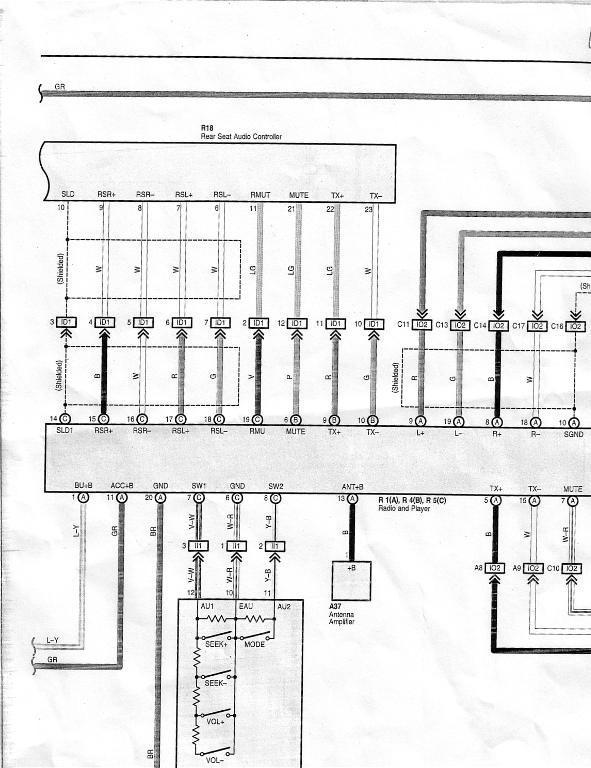 2004 toyota 4runner jbl radio wiring diagram