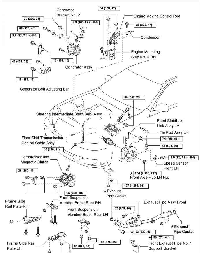 96 toyota camry engine diagram