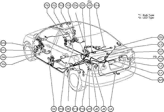 wiring diagram for toyota camry 1992