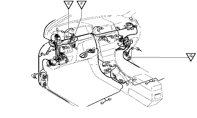fuel pump wiring harness location