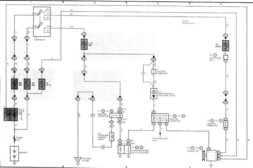 1960s chevy starter wiring diagram