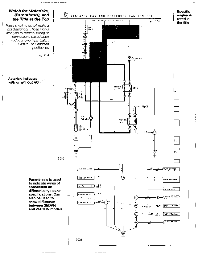 97 camry radiator fan wiring diagram