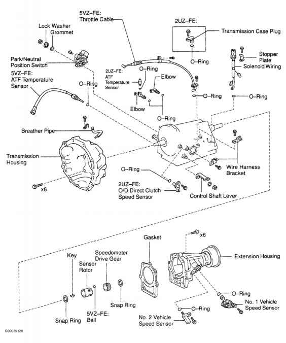 2000 toyota tundra manual transmission