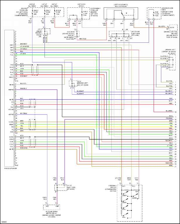 Toyota Radio Wiring Diagrams Wiring Schematic Diagram