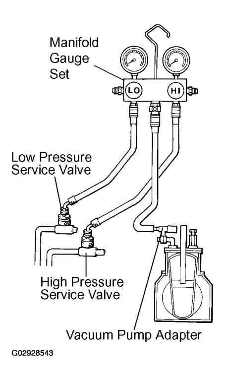 YELLOW JACKET VACUUM PUMP WIRING DIAGRAM - Auto Electrical Wiring