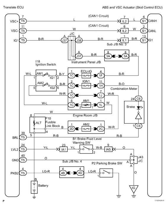 1995 Toyota Land Cruiser Wiring Diagram Online Wiring Diagram