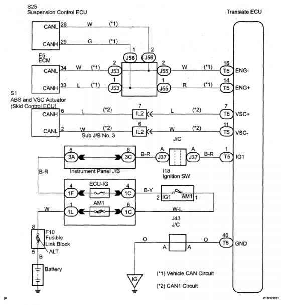 Dtc Vehicle Can Communication Malfunction Description - Toyota