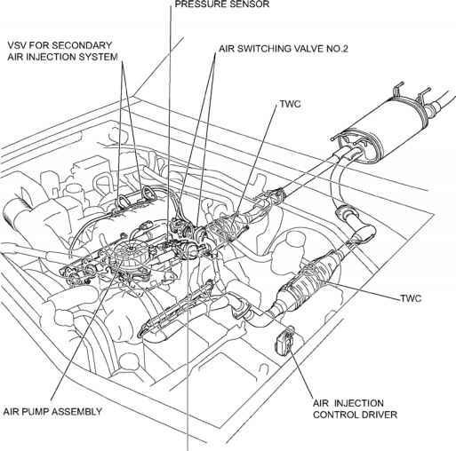 02 sequoia Motor diagram
