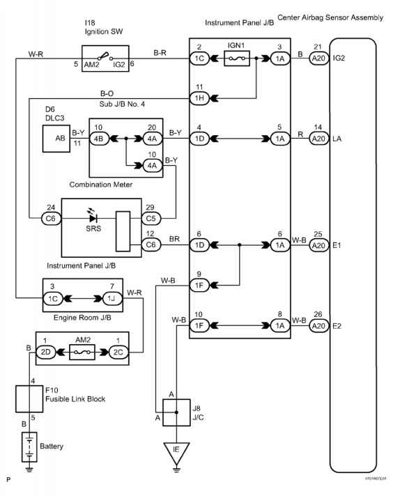 toyota camry wiring system