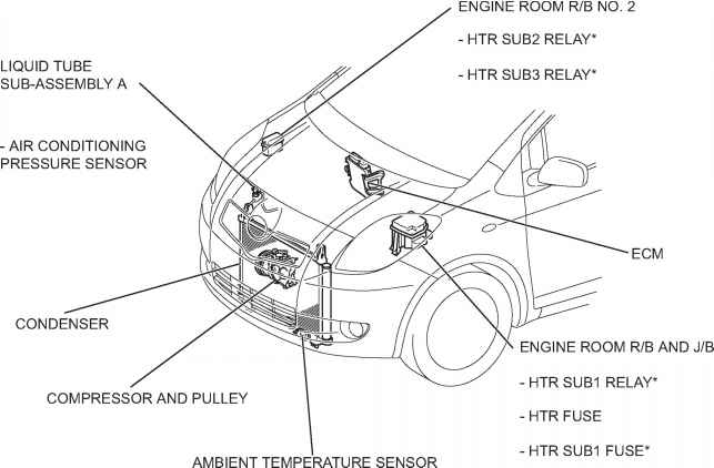 toyota yaris diagram engine