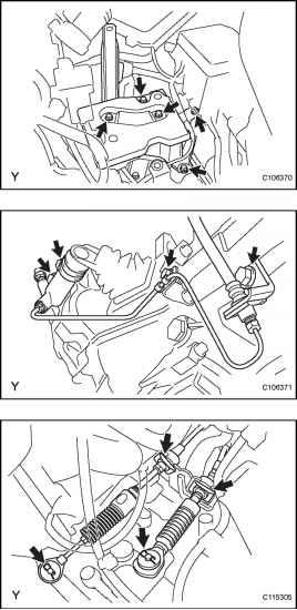 Toyota Yaris Engine Removal - Toyota Yaris Manual