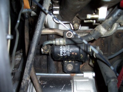 Leaking fuel line going into fuel filter - Toyota Nation Forum
