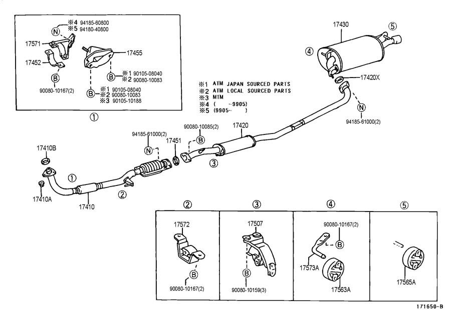 99 Toyota Engine Diagram Schematic Diagram Electronic Schematic