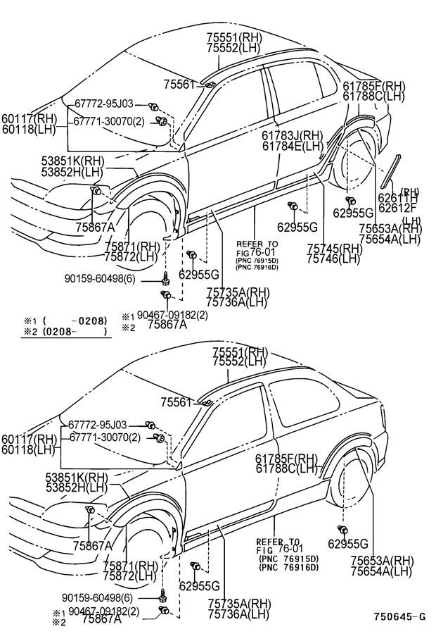 toyota echo fuel filter