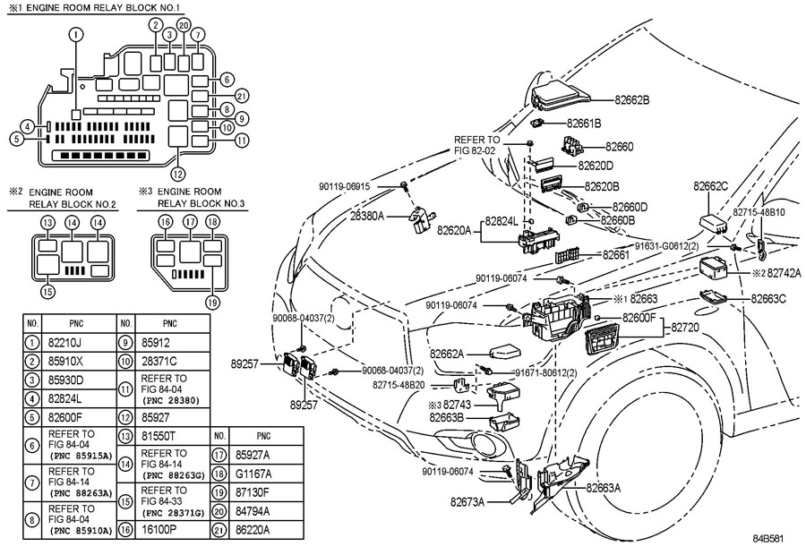 Toyotum Fuse Box Diagram 2007 - Best Place to Find Wiring and