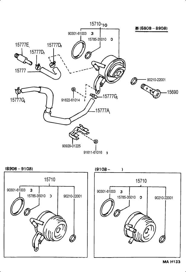 TOYOTA 3VZE ENGINE DIAGRAM 1995 4RUNNER - Auto Electrical Wiring Diagram